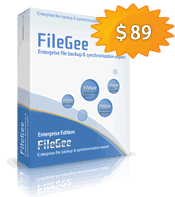 FileGee Backup and Sync Personal Edition boxshot